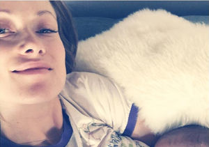 Olivia Wilde Posts Powerful Snap of Herself Breastfeeding Baby Girl Daisy