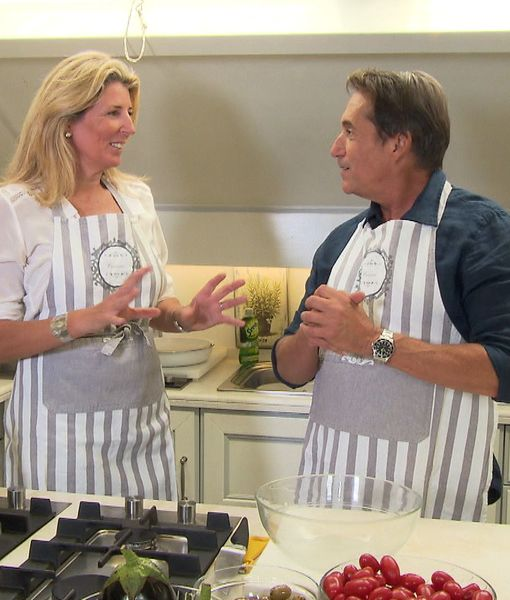 Cooking with Italian Royalty!