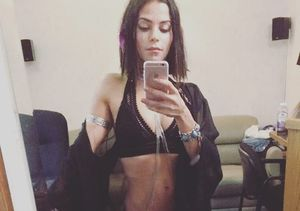 Why Jenna Dewan Is Stripping Down to Her Bra and Underwear