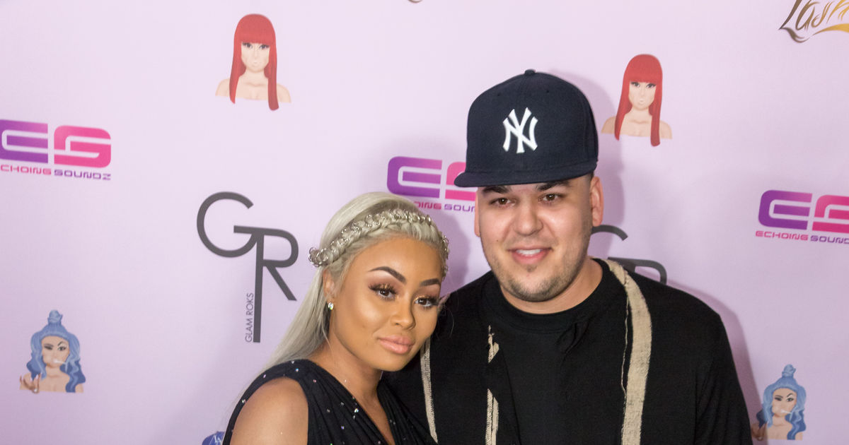 Image result for blac chyna rob kardashian