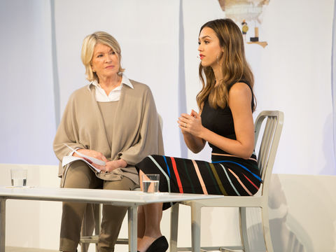 Jessica Alba Says No One Else Can Do What Martha Stewart
