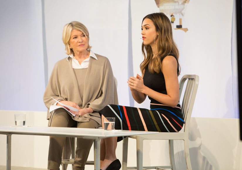 Jessica Alba Says No One Else Can Do What Martha Stewart Does