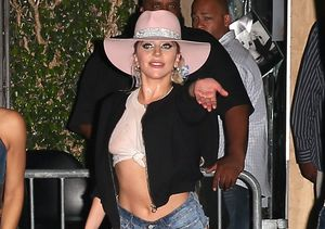 Lady Gaga Flashes Some Skin at Her Final Dive Bar Tour Show