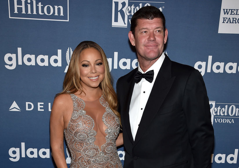 Mariah Carey Is Still Wearing Engagement Ring After James Packer Split