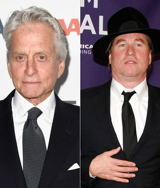 Michael Douglas Gives Health Update on Val Kilmer: 'Things Don't Look Too…