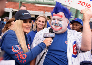 Cubs Superfan Jenny McCarthy Does the World Series 'Extra'-Style!