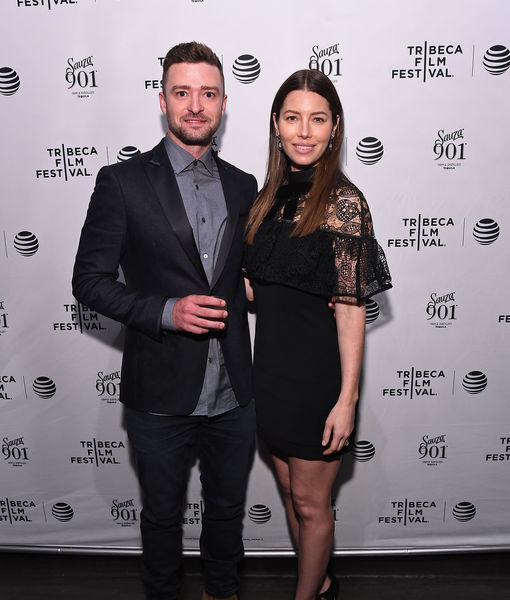 Jessica Biel Posts Silly Voting Selfie at Justin Timberlake's Expense