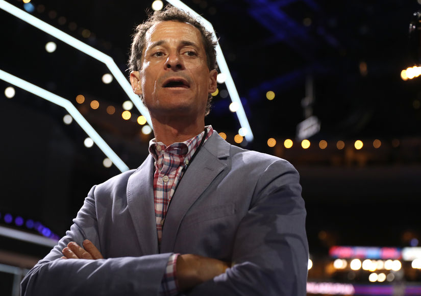 Anthony Weiner Reportedly Checks in to Sex Addiction Treatment Center After Getting Caught Sexting Teenage Girl