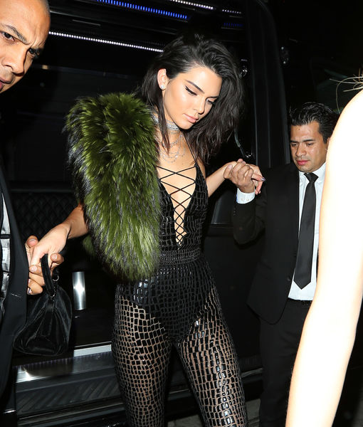 Kendall Jenner's 21st Birthday Brings Out Kim Kardashian & Kanye West