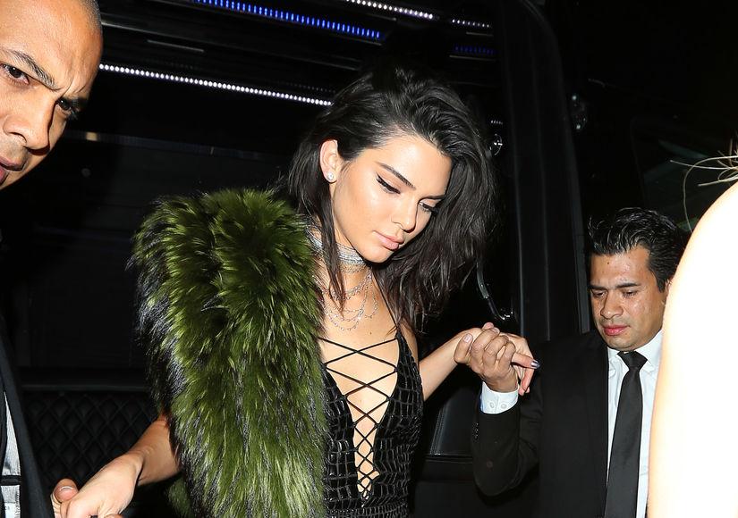 Kendall Jenner's 21st Birthday Brings Out Kim Kardashian & Kanye West