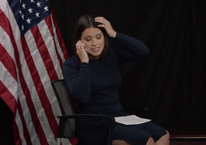Gina Rodriguez's Phone Interrupted President Obama