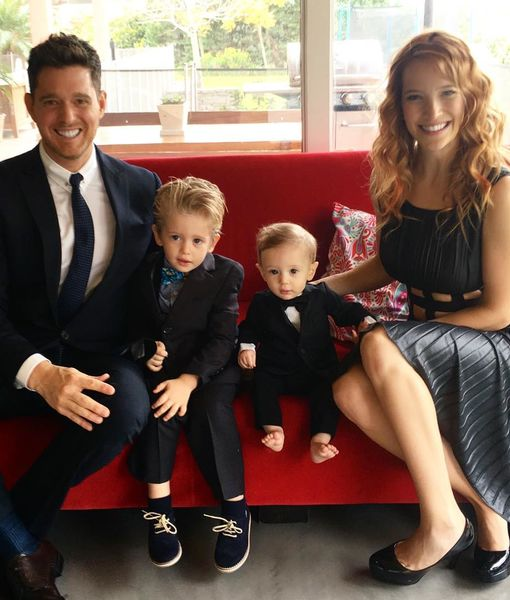 Report: Michael Bublé's Son to Undergo Surgery in Cancer Battle
