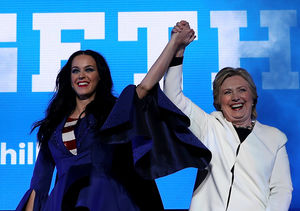 She Is Katy Perry, Hear Her 'Roar'... for Hillary