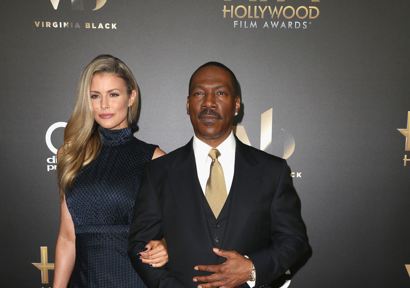 What Eddie Murphy's Ninth Baby Is Already Saying