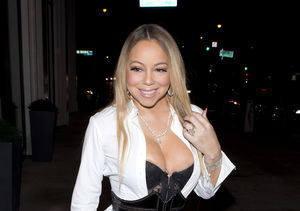 Mariah Carey, Sporting Engagement Ring Again, Suffers Wardrobe Malfunction
