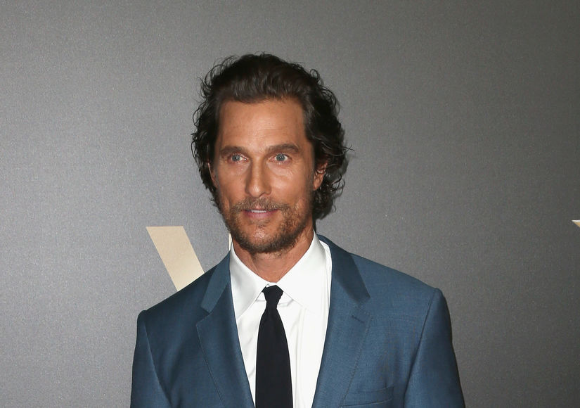 Matthew McConaughey Says America Should 'Embrace' the Fact That Trump Is President