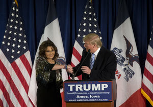 Sarah Palin Reveals Why Donald Trump Should Be President