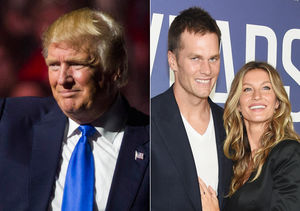 Donald Trump & Gisele Bündchen Completely Disagree Over Tom Brady's Vote