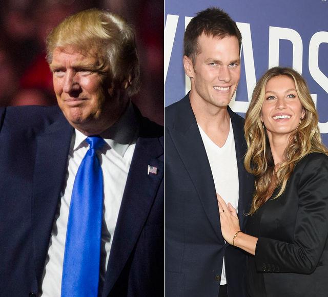 Donald Trump & Gisele Bündchen Completely Disagree Over Tom Brady's Vote
