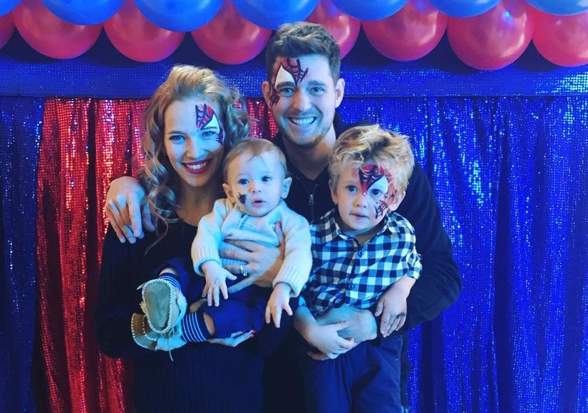 More Details on Michael Bublé's Son's Cancer Battle