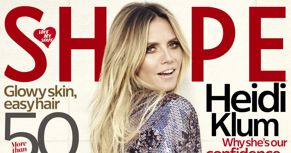 Heidi Klum Shows Off Her Bangin' Bod on Shape Magazine Cover