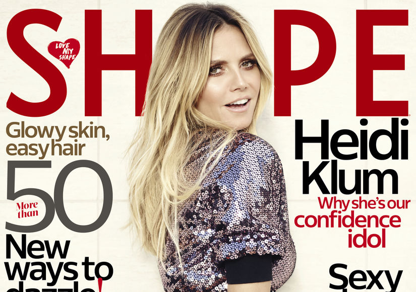 Heidi Klum Shows Off Her Bangin' Bod on Shape Magazine Cover
