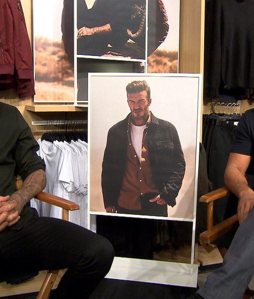 How David Beckham's Jet Lag Inspired Him to Strip Down for 22 Push-up…