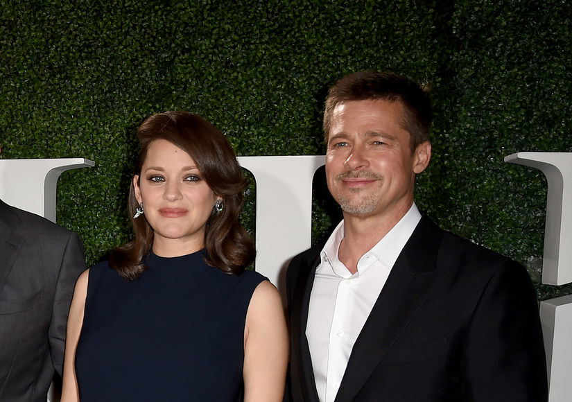 Marion Cotillard Dishes on Shooting Steamy Love Scenes in a Tiny Car with Brad Pitt
