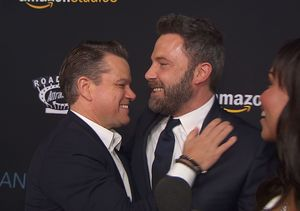 Ben Affleck Crashes Matt Damon's 'Extra' Interview at 'Manchester by…