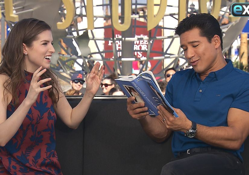 Anna Kendrick on Mario Lopez Making It into Her Book