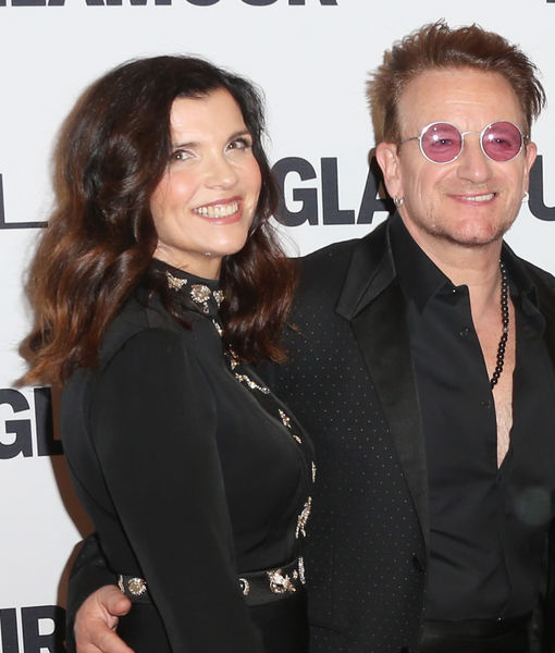 Bono on His 40th Anniversary and His Glamour Honor