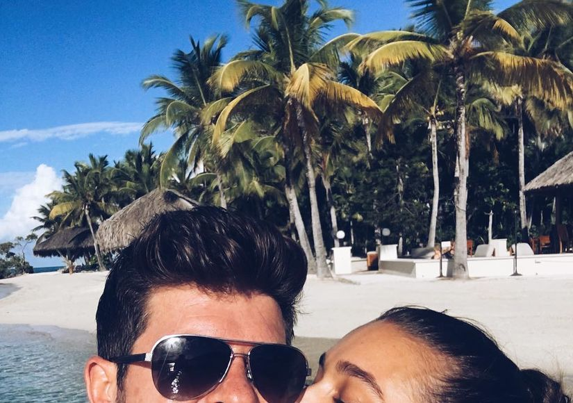 Is Robin Thicke Secretly Married to April Love Geary?