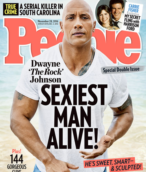 Dwayne 'The Rock' Johnson Named People's Sexiest Man Alive