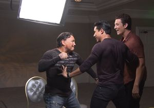 Watch Miles Teller & Vinny Pazienza Get Into Heated Exchange in the Middle…