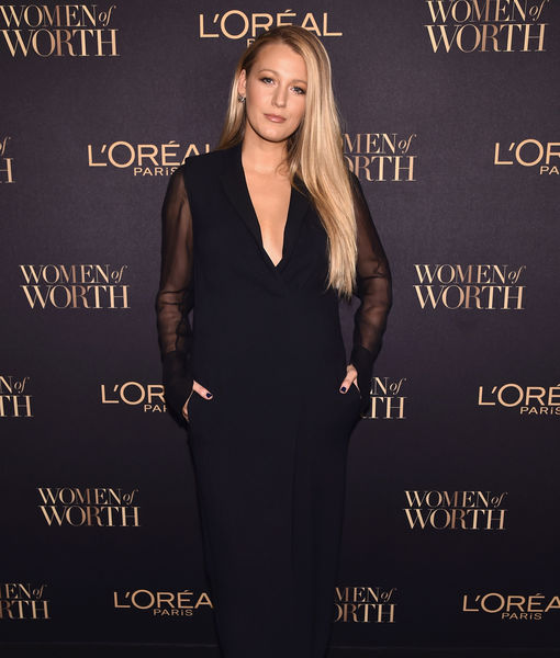 Blake Lively Gushes About Ryan Reynolds at First Red Carpet Since Baby #2