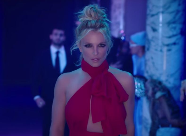 Britney Spears Steams Up the Night in 'Slumber Party' Music Video