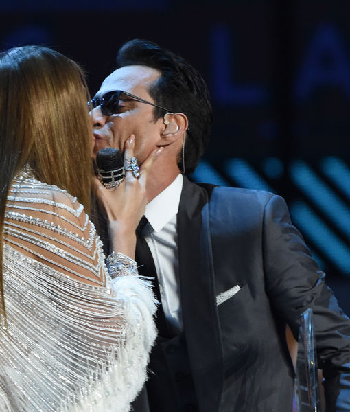 When Friendly Exes Collide! Jennifer Lopez & Marc Anthony's Onstage Kiss…