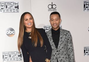 John Legend on Chrissy Teigen's AMAs Wardrobe Malfunction: 'We Were Worried'
