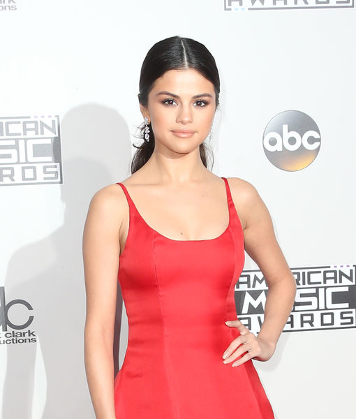 Selena Gomez Stuns at the AMAs on the Carpet and in Heartfelt Speech After Career Break
