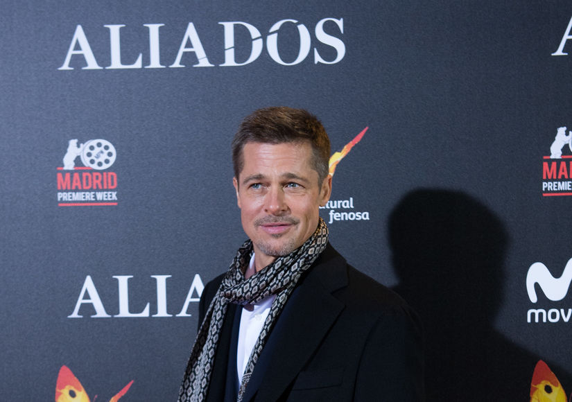 Is Brad Pitt Spending Thanksgiving with His Family?