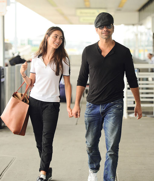 John Stamos on His Ageless Look & GF Caitlin McHugh