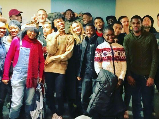 Madonna & Lady Gaga Visit LGBTQ Youth Center Over Thanksgiving