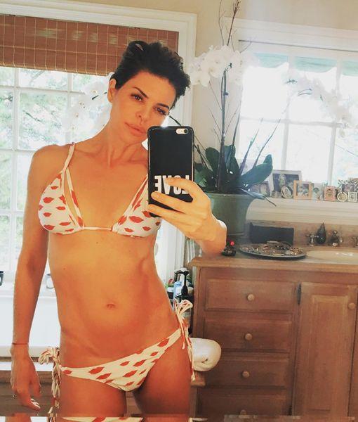 Lisa Rinna Flaunts Bikini Bod at 53