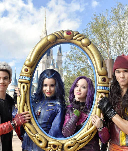 Stars of Disney's 'Descendants 2' in the Holiday Spirit