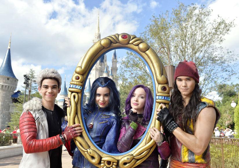 Stars of Disney's 'Descendants 2' in the Holiday Spirit