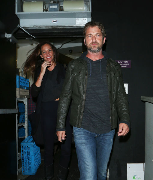 Gerard Butler & GF Morgan Brown Split