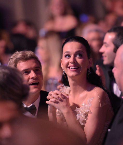 Katy Perry Acknowledges Orlando Bloom's Love and Support