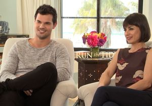Why Taylor Lautner's 'Run the Tide' Nude Scene Was 'Challenging'