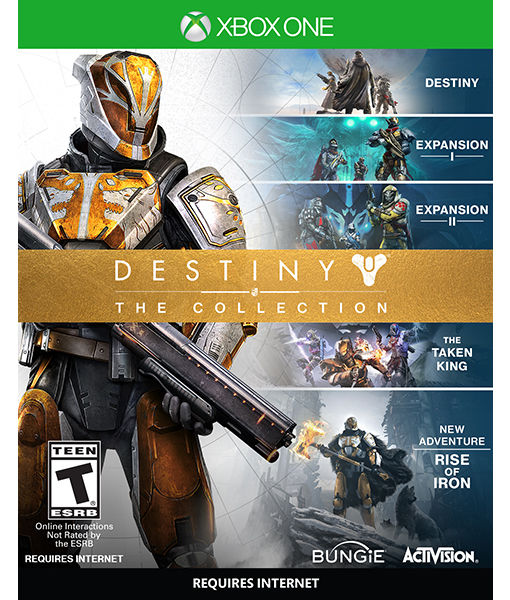 Enter for a chance to win a Destiny — The Collection pack in our Twitter giveaway!