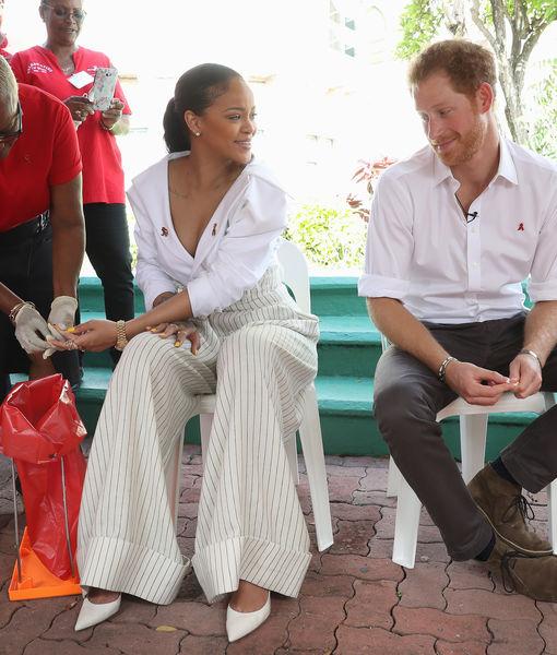 Rihanna & Prince Harry Get HIV Tests Together